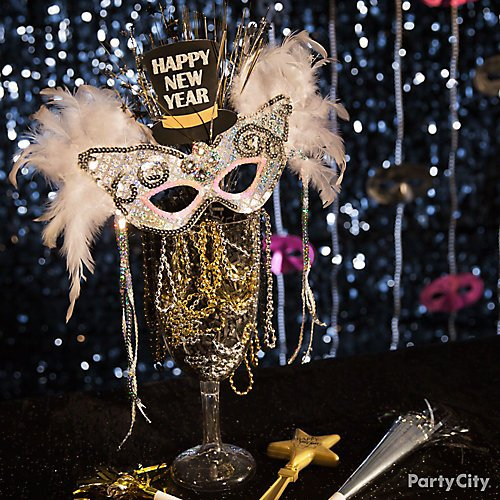 curated image with giant clear plastic wine glass glitter new years cutouts 9ct