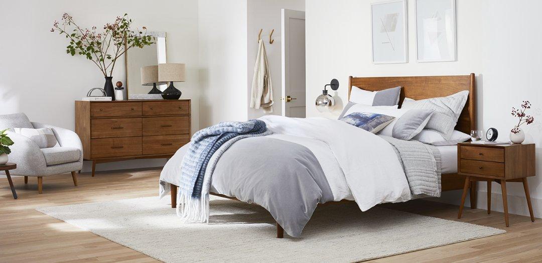 Bedroom Inspiration | West Elm