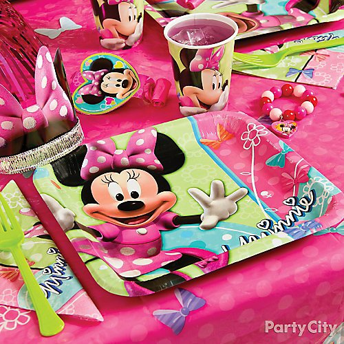Curated Image With Minnie Mouse Lunch Plates 8ct Cups