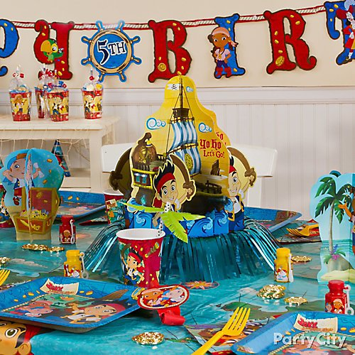 Jake and the pirates number pinata jake and the pirates birthday party