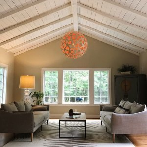 Coral pendant by david trubridge at lumens peaked ceilings the beauty of nature through the windows and a standout davidtrubridge aloadofball Gallery