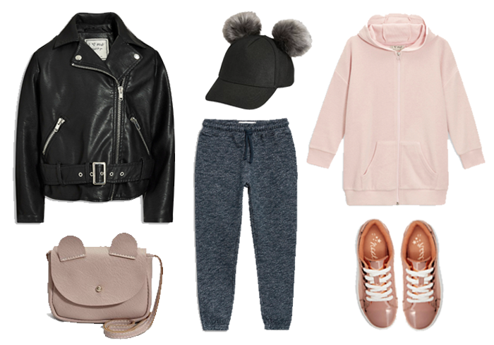 athleisure outfit for girls