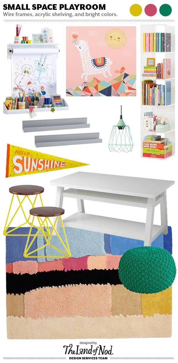 Small Space Playroom - Tips & Essentials