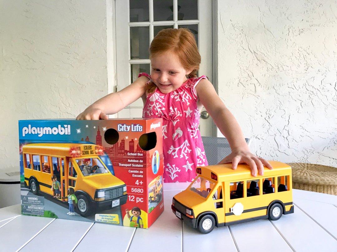 Playmobil School Bus Happy Family Blog