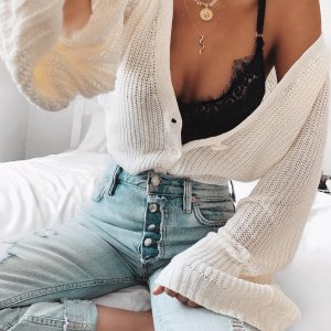 8e0c32a4c61 Love love love this bralette + cardigan from windsorstore  windsorstore ad.  Cardigan  White