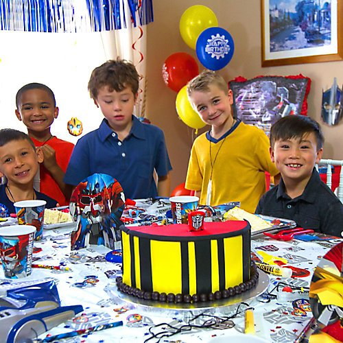 Transformers Themed Birthday Party Ideas