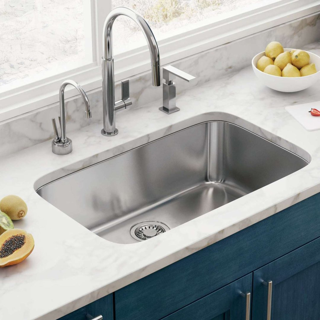 A Guide to Kitchen Sink Types: Design, Materials & Sizes on different kitchen furniture, different kitchen appliances, used farmhouse apron sinks, different kitchen flooring, different kitchen tools, different bathroom accessories, different kitchen backsplashes, different kitchen countertop materials, lav sinks, different bathroom sinks, different kitchen tables, different kitchen doors, different kitchen counter heights, different kitchen counter tops, different kitchen styles, different kitchen tiles, different kitchen islands, different kitchen ceilings, different kitchen cabinets, different kitchen lighting,