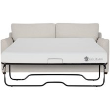 Shop Asheville Light Taupe Fabric Memory Foam Sleeper and more
