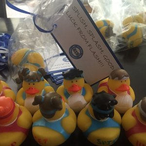 Volleyball Rubber Duckies - Discontinued