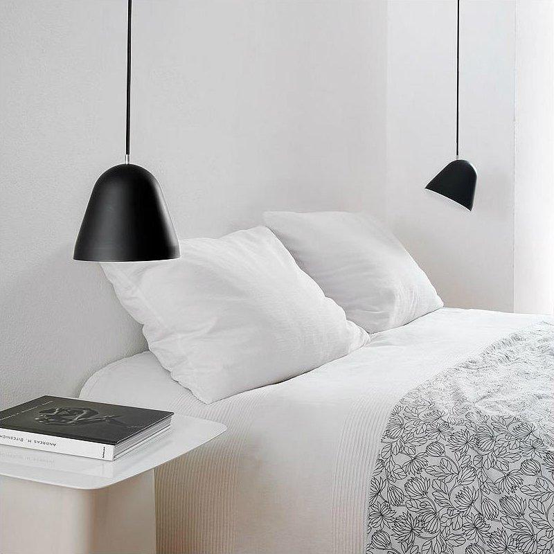 Bedside Pendant Light Ideas Nightstand Pendant Lighting At Lumens Com