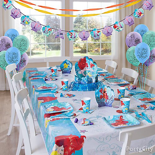 under the sea birthday party mermaid birthday mermaids party theme, mermaid Ariel pinata under the sea party supplies mermaid birthday decorations mermaid party theme mermaid party decorations