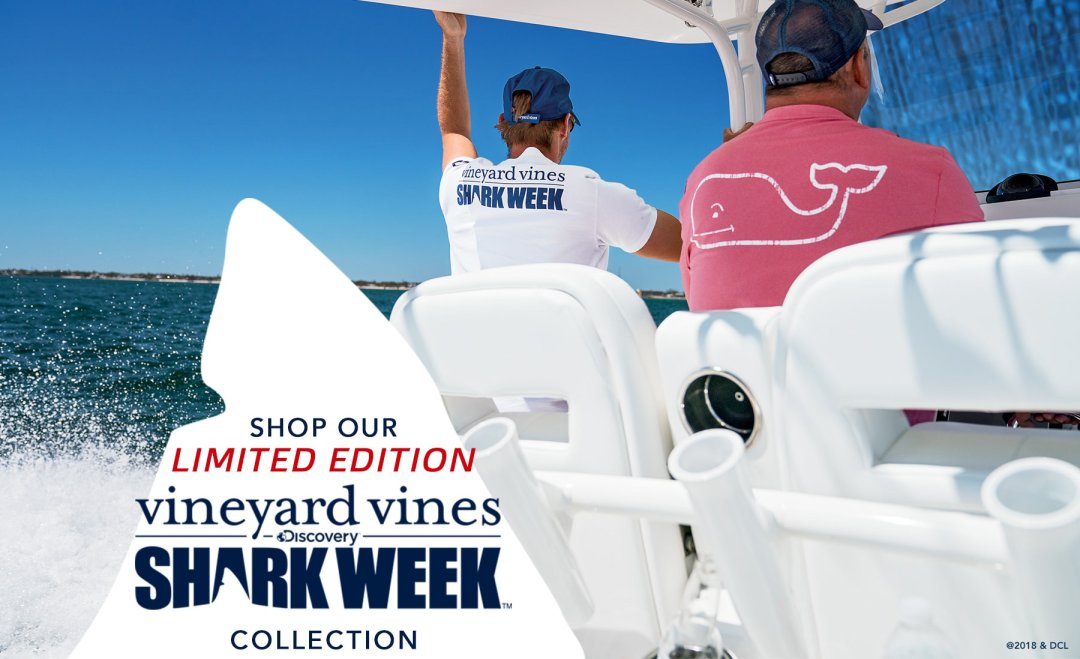 Unique Shark Week Apparel and Merchandise from vineyard vines EN55