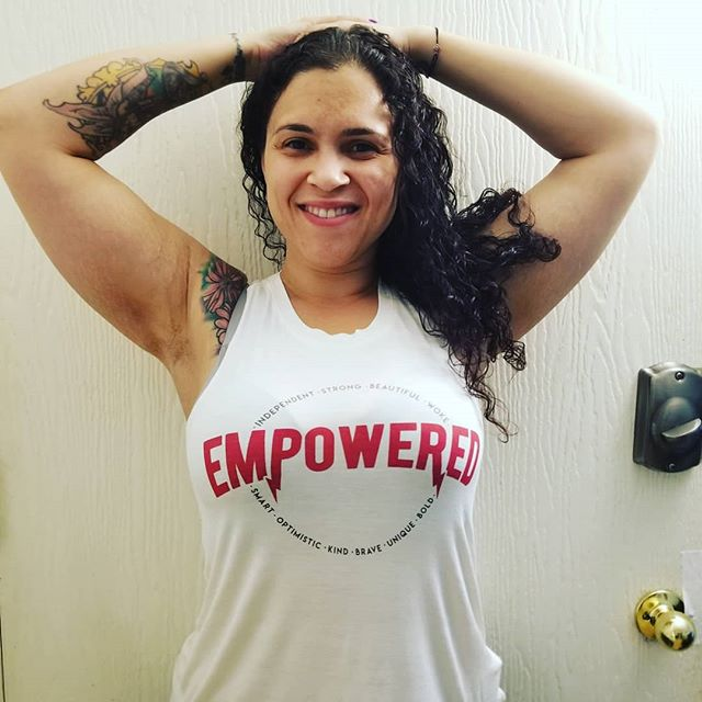 21e4b2107485f ... Women s Empowered Lady Scoop Neck Graphic Tank Top - Fifth Sun  (Juniors ) White! see all your loves · instagram photo by Vanessa-Gissele  O Brien
