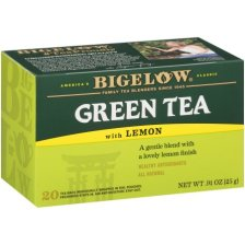 Shop Bigelow® Green Tea with Lemon 20 ct Box - Walmart.com and more