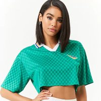 be5714c1849743 Pony Cropped Jersey Polo