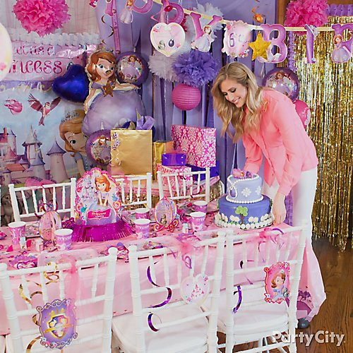 Superb Sofia The First Party Ideas Party City Download Free Architecture Designs Meptaeticmadebymaigaardcom