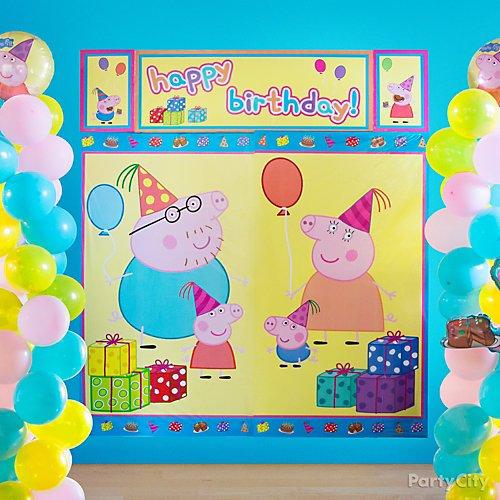 Idea 17 Create The World Of Peppa Pig With A Scene Setter