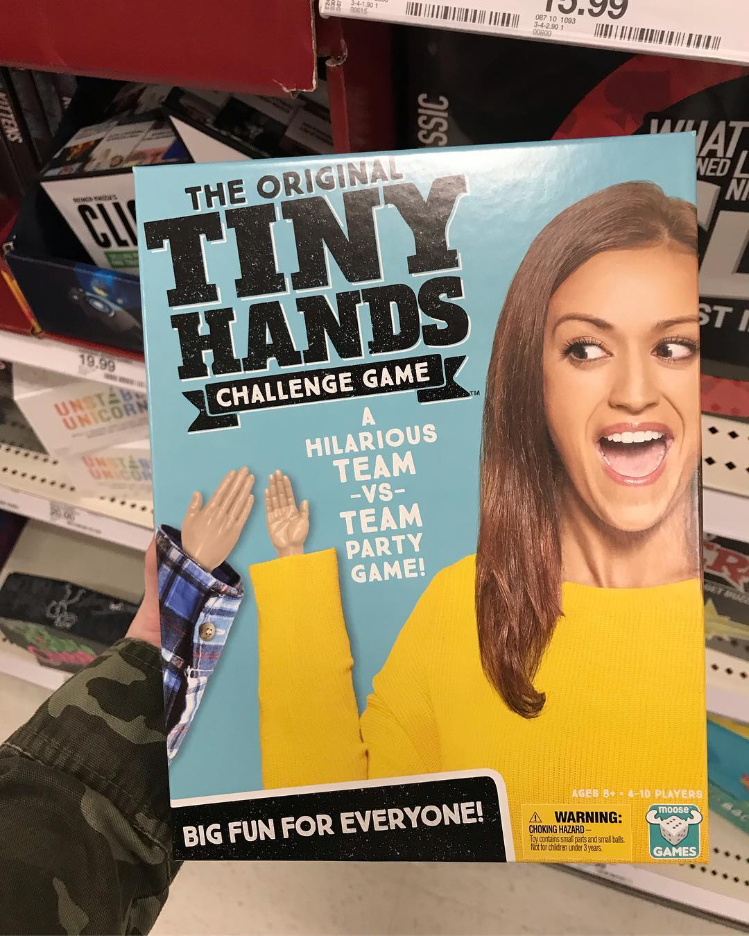 62bfa25a883 The Original Tiny Hands Challenge Game   Target Finds