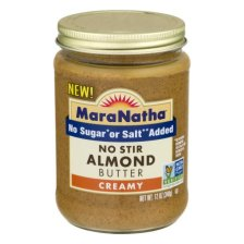 Shop MaraNatha No Stir Creamy Almond Butter, 12.0 OZ - Walmart.com and more