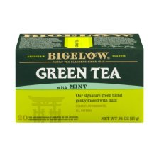 Shop Bigelow Green Tea with Mint - 20 CT - Walmart.com and more