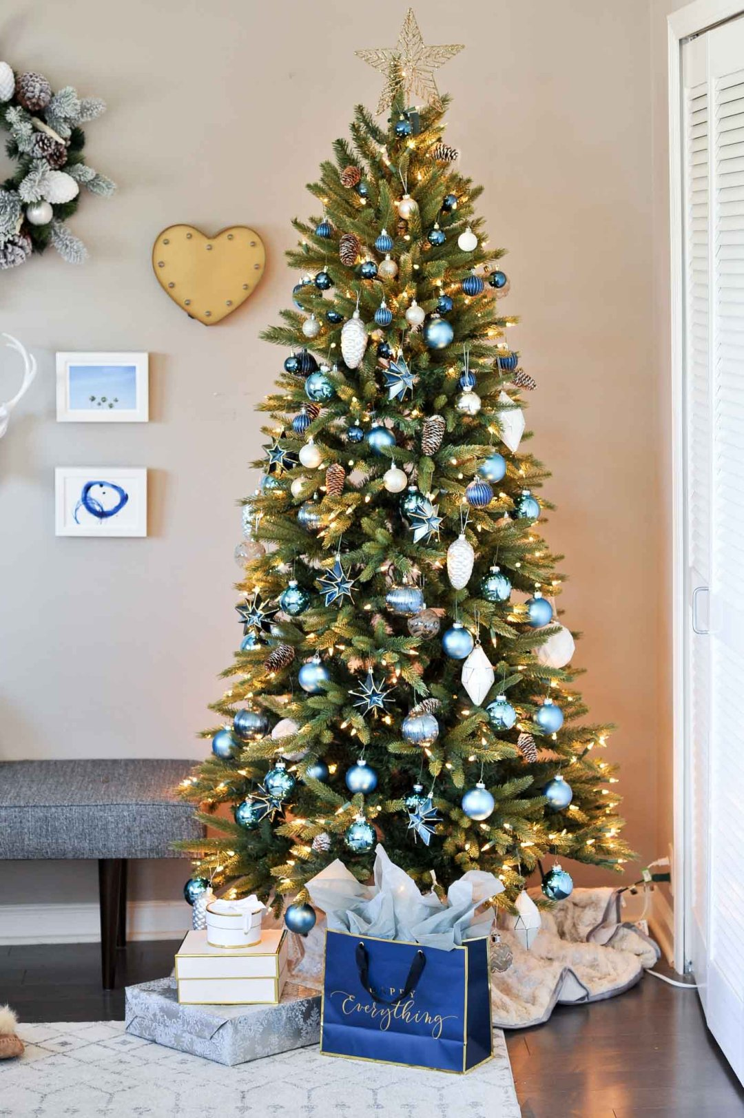 buy enough ornaments - Year Round Christmas Tree