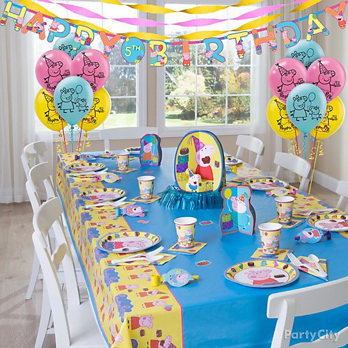 Idea 12 Decorate The Perfect Peppa Party Room