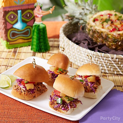 6 Easy Finger Foods For Your Tiki Party Party City