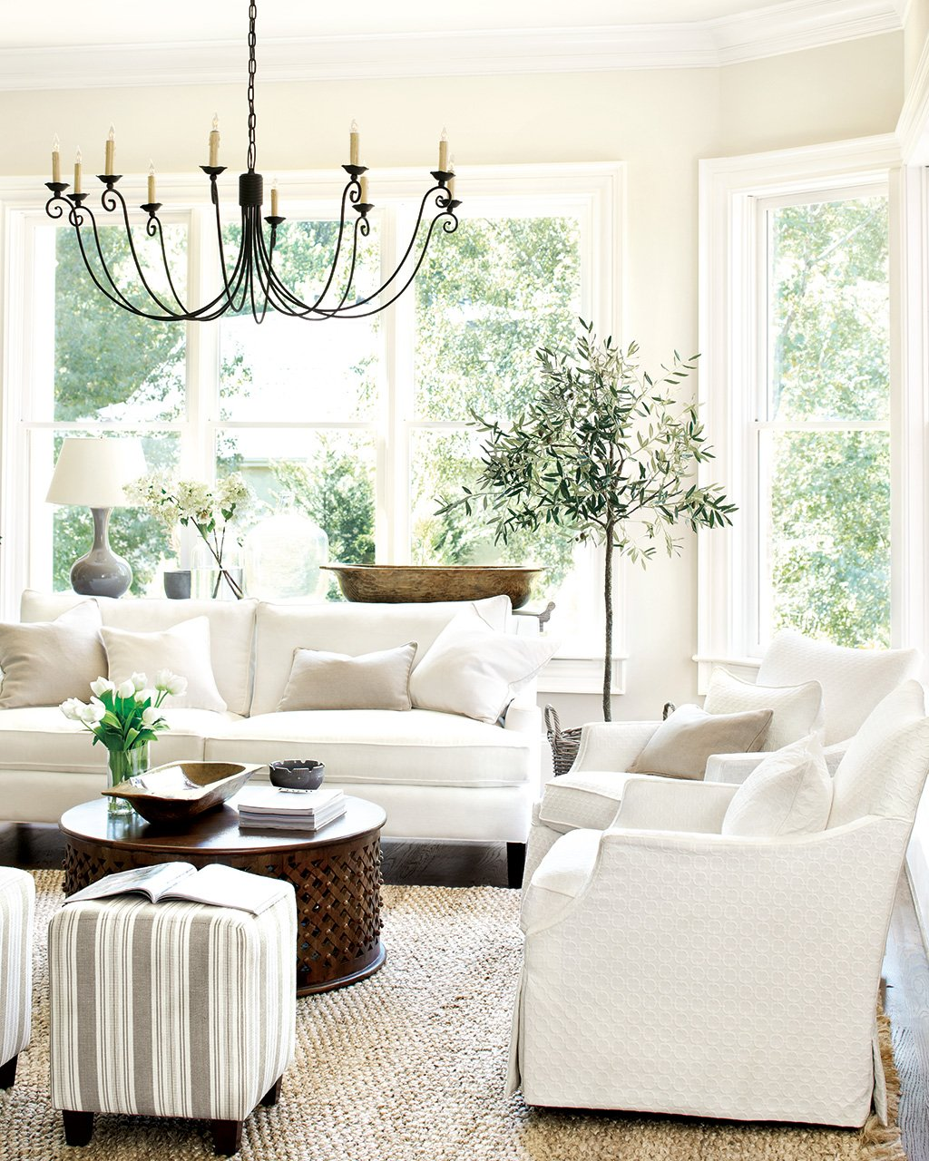 2 Accent Chairs And A Tv And Sectional.15 Ways To Layout Your Living Room How To Decorate
