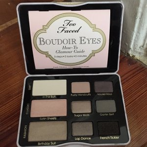 Boudoir Eyes Shadow Palette Sexy Makeup - Too Faced