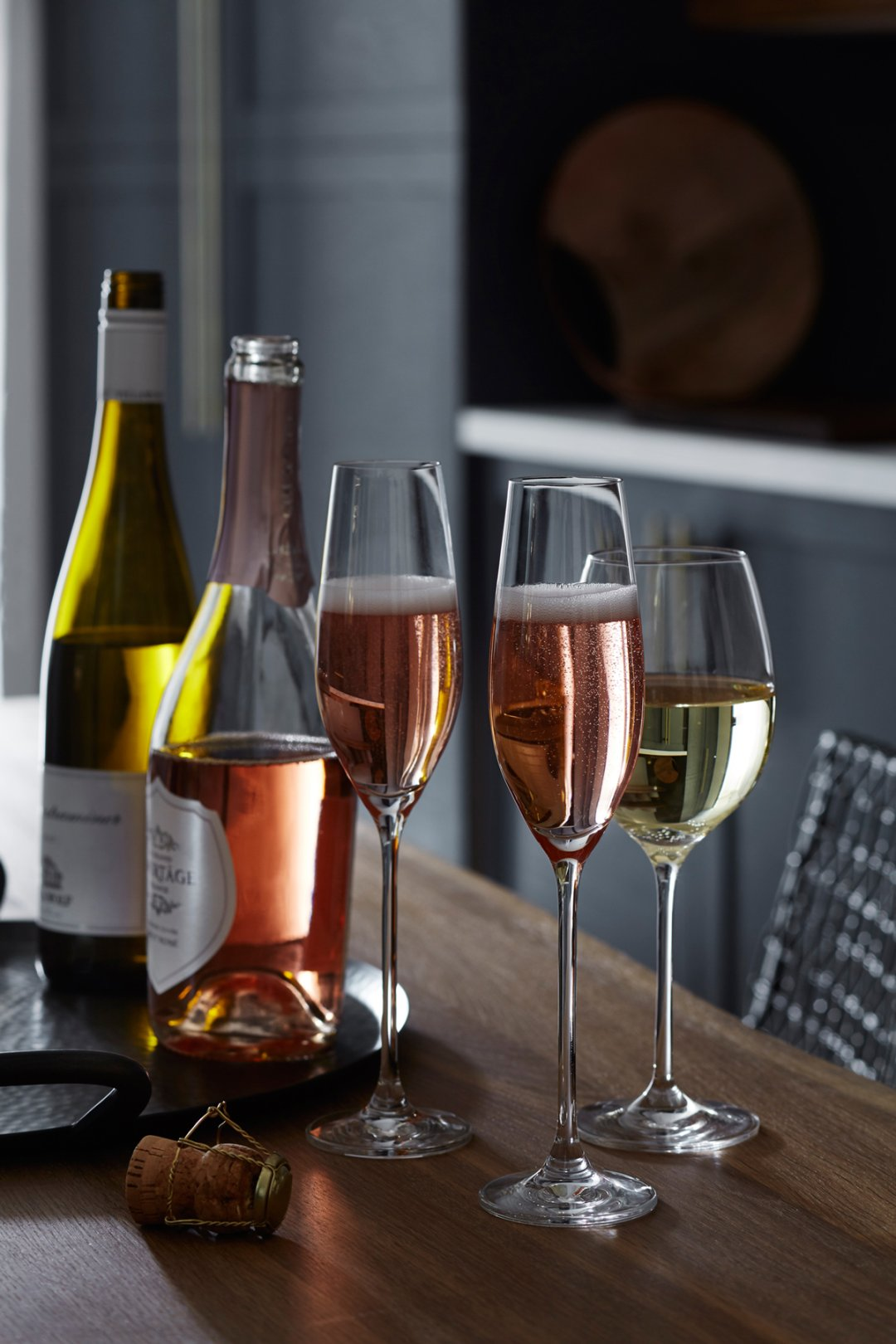 Champagne and wines to pair with harvest gathering menu