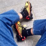 @carlacristallini's instagram image of Nike Shox TL - Men Shoes Black Size 40.5 at Foot Locker