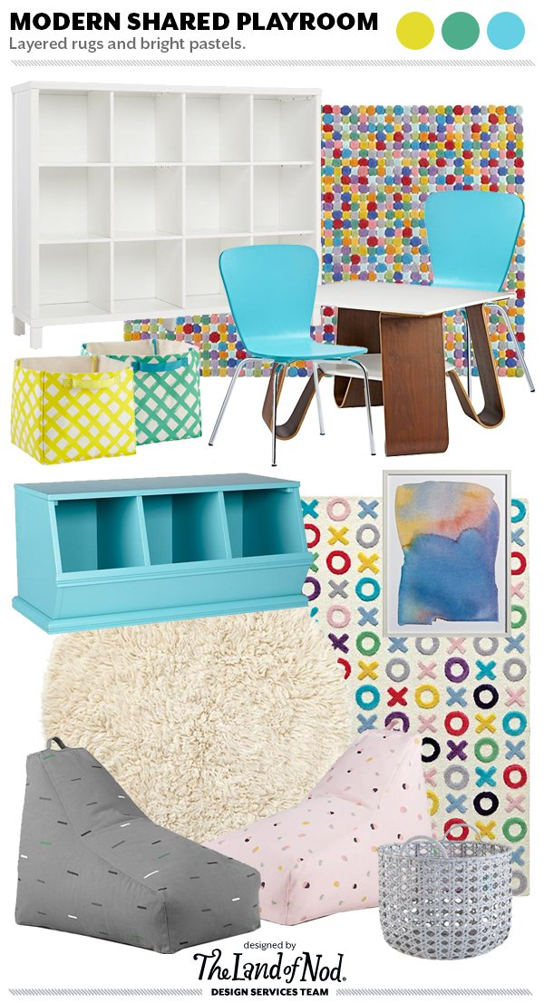 Shared Space Playroom Design -Tips & Essentials