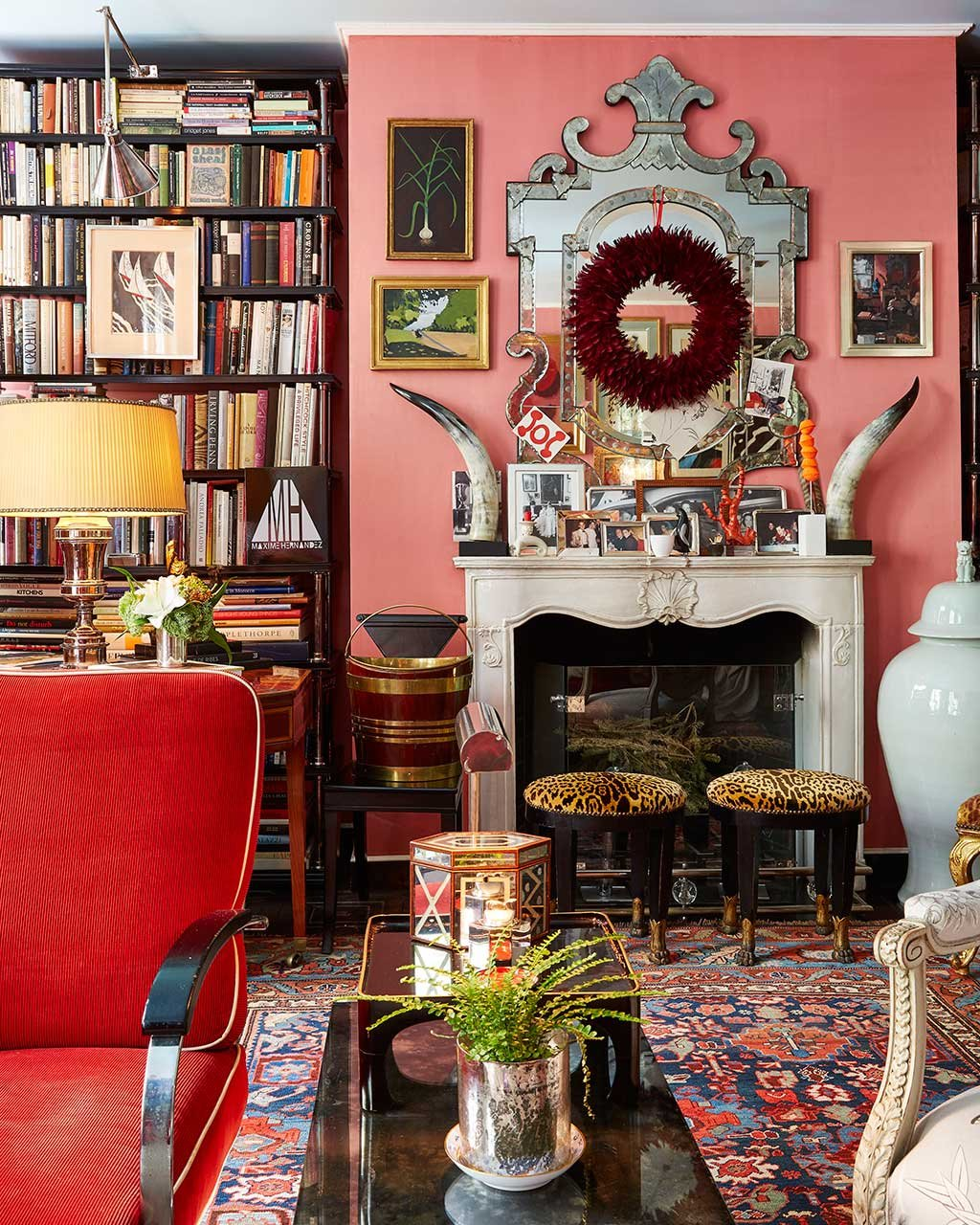 Miles Redd home tour: miles redd's eclectic, new york townhouse - how to decorate