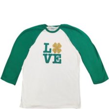 b080acd7 Shop Four Leaf Clover Love St. Patrick's Day Shirt - Size - L/XL and more  ...