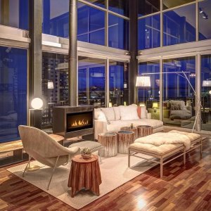 home lighting designer. In the living area we kept our focus on beautiful view of Puget Sound  Modern Lighting Ceiling Fans Furniture Home Decor at Lumens com