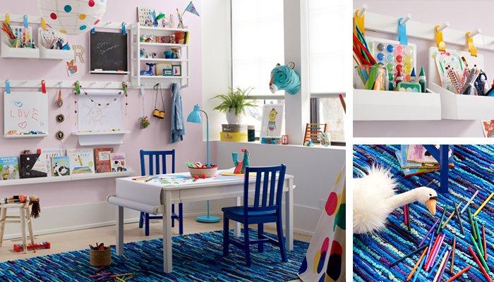 kids living room. Kids Art Wall Ideas Playroom Design  The Land of Nod