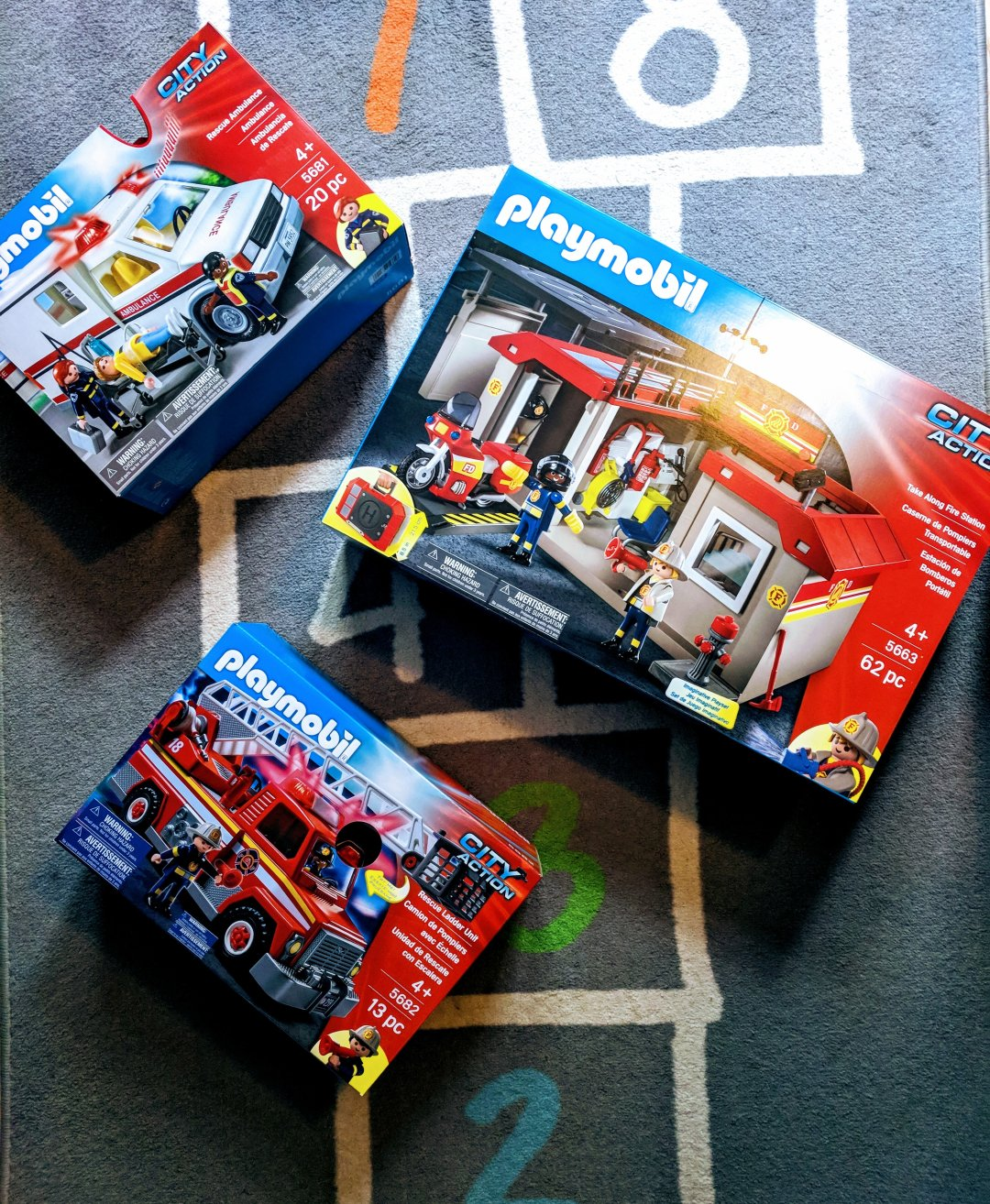 Hands On Learning With Playmobil Toys The Domestic Geek Blog Lego 5682 Duplo Fire Truck Curated Image Take Along Station Walmartcom