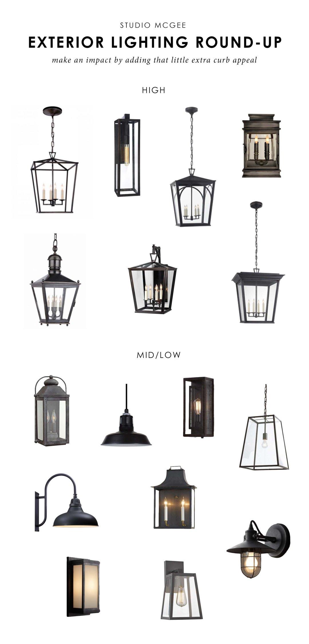 Our Top Picks: Exterior Lighting — STUDIO MCGEE