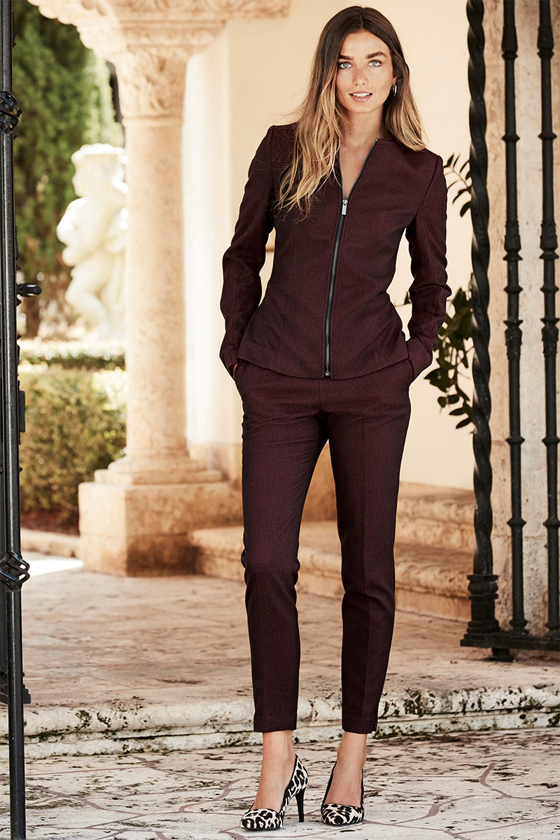 Berry Tailored Suit