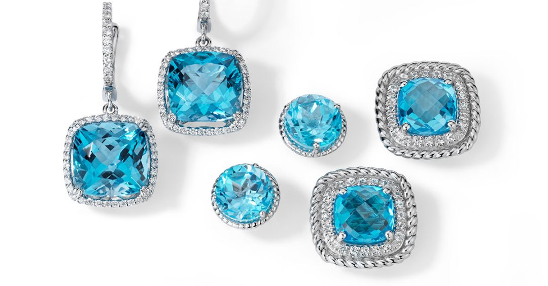 December Birthstone Blue Topaz Blue Nile