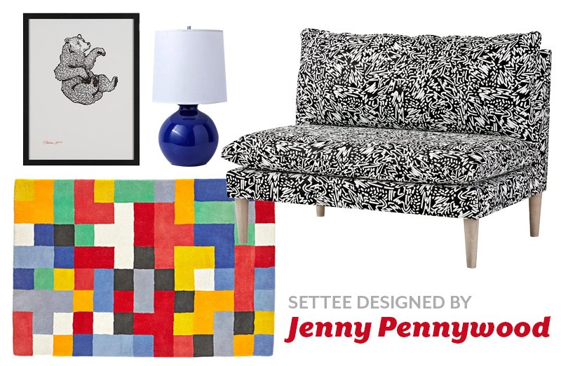 Product Spotlight: Artist Designed Settees