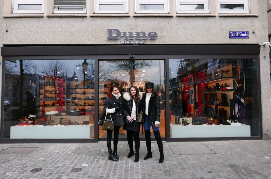 purchase cheap c895a f172f Exploring Zurich: New Store Opening   Dune London