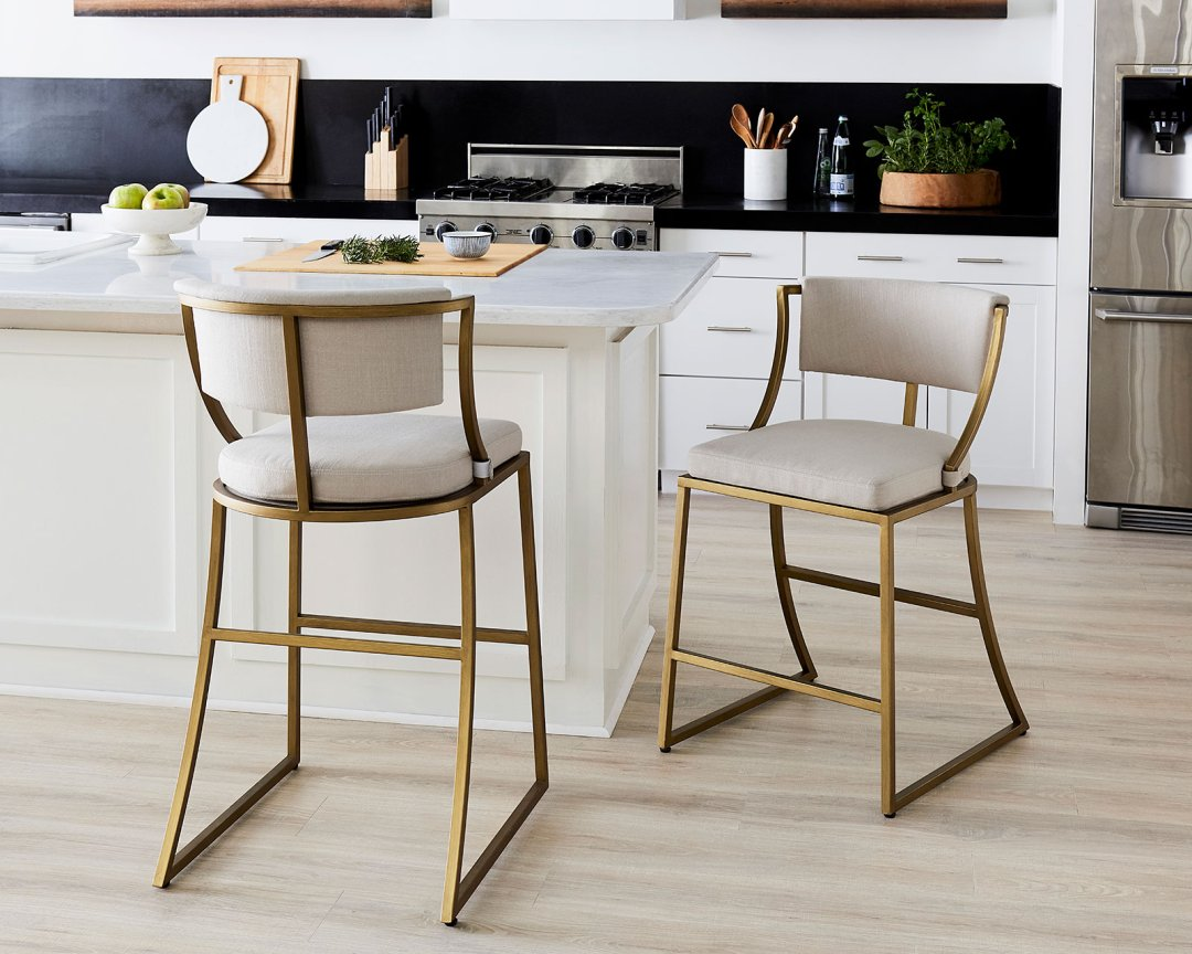 Fine How To Choose The Right Stool Heights For Your Kitchen Pdpeps Interior Chair Design Pdpepsorg