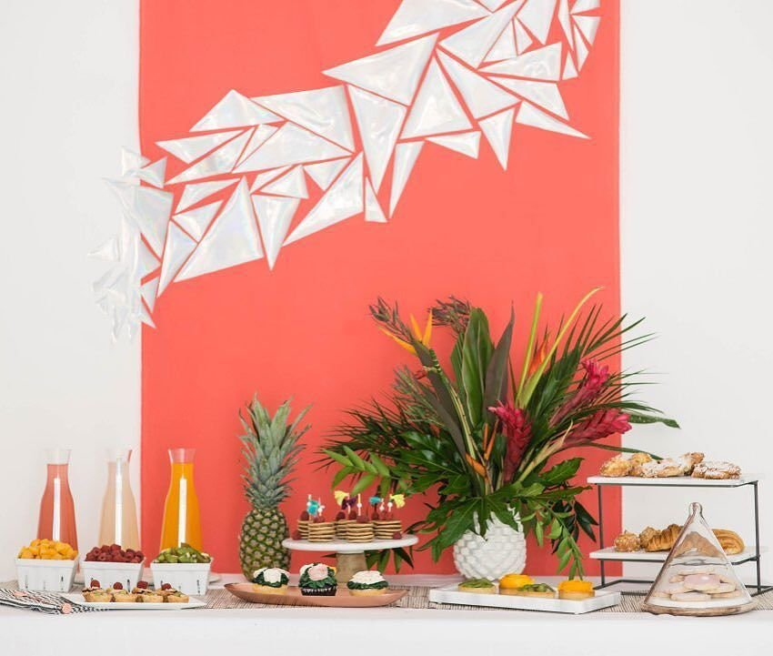 curated image with low stress bridal shower crate and barrel blog