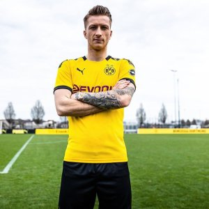 46342cc5019 110 years of 💛⚫⠀⠀ Introducing the  bvb09 2019 20 home jersey