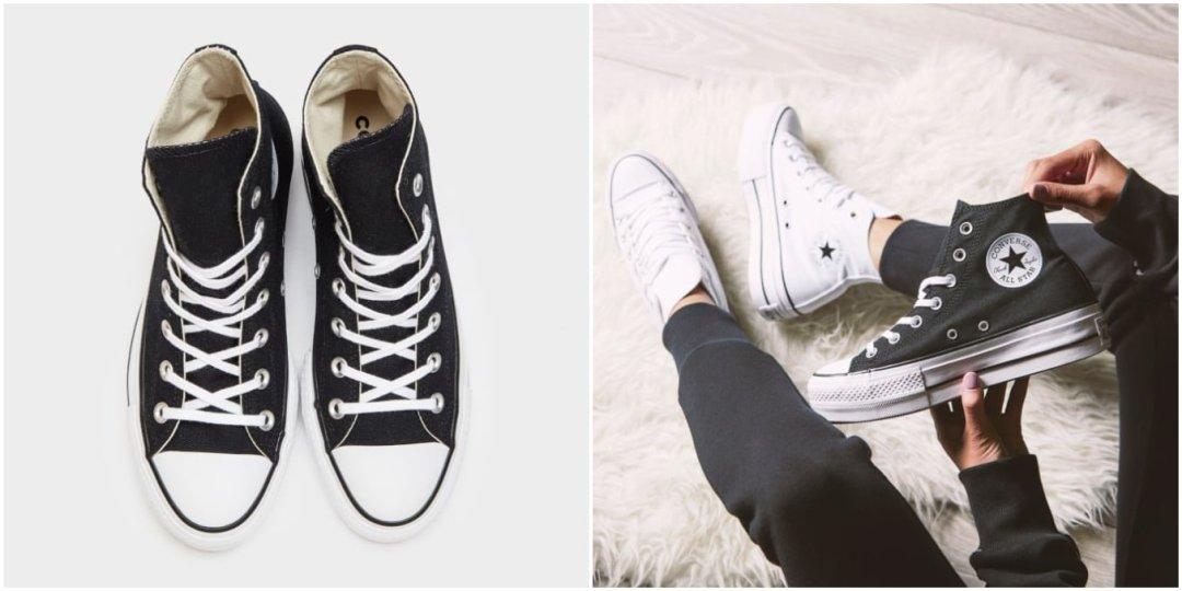 zapatillas de doble suela converse