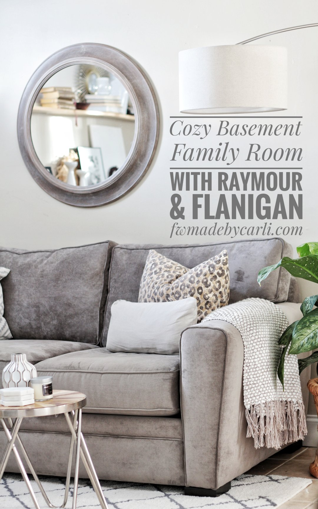 Cool Cozy Basement Family Room Reveal Made By Carli Pdpeps Interior Chair Design Pdpepsorg