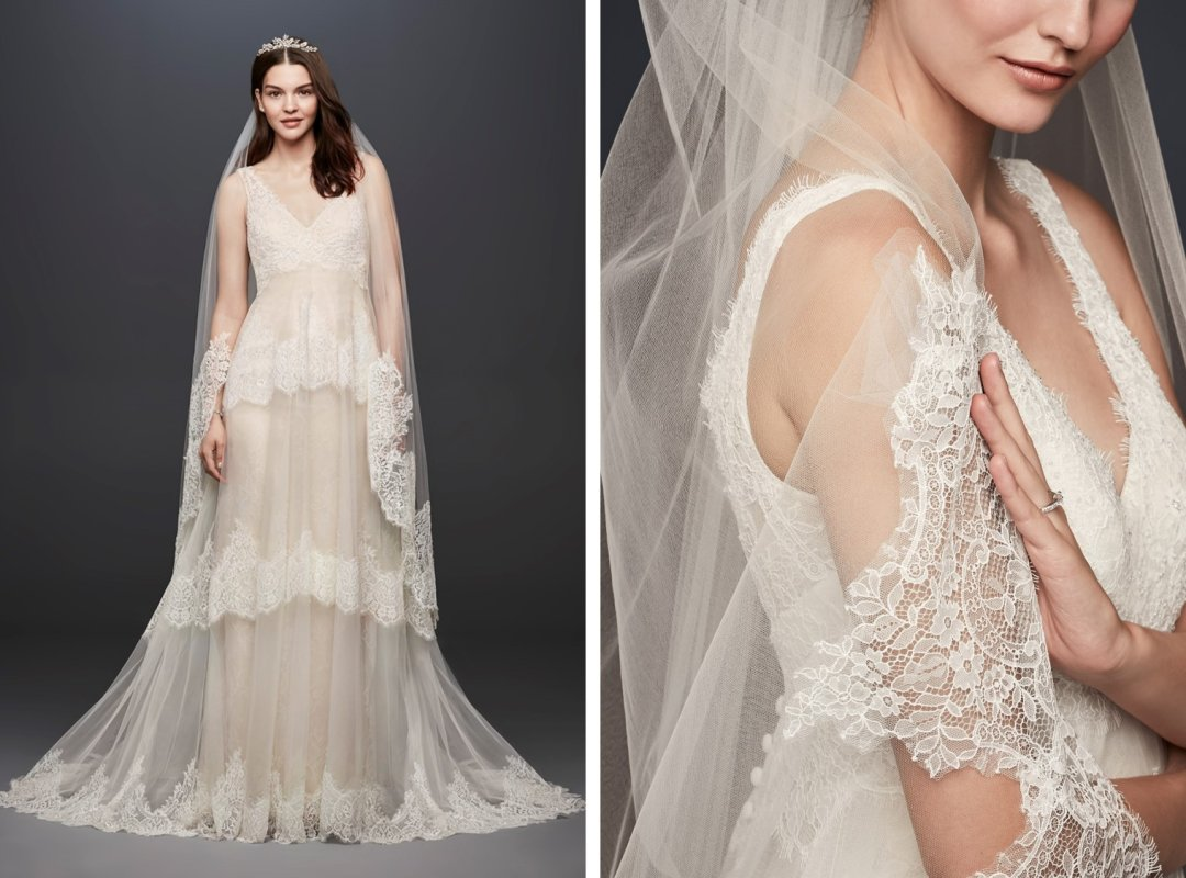 Wedding Dresses and Matching Veils