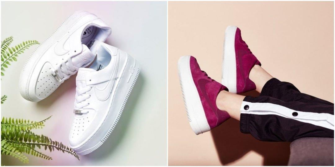 Resalte las características Zapatillas de deporte blancas