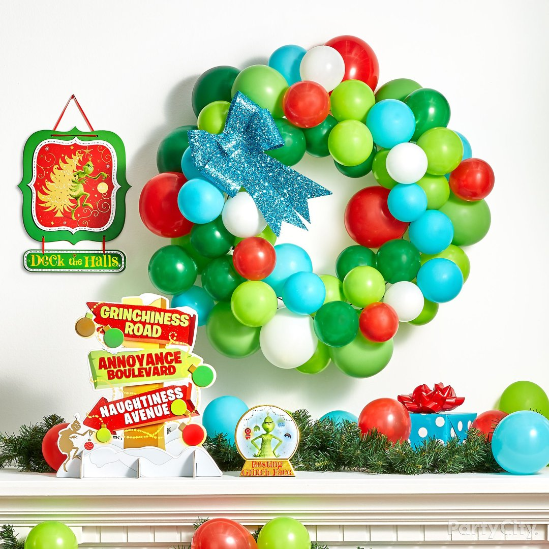 Christmas Decoratio Party City: Grinch Christmas Decorating And Party Ideas